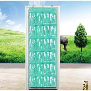 BOITE DE RANGEMENT Range-chaussures à suspendre sur la porte, 24 comp