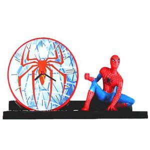 reveil spiderman achat vente jeux et jouets pas chers. Black Bedroom Furniture Sets. Home Design Ideas