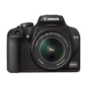 APPAREIL PHOTO RÉFLEX Canon EOS 1000D EF-S 18-55mm IS  Appareil photo re