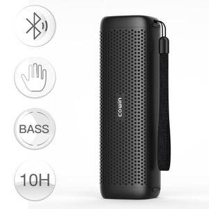 ENCEINTE ET RETOUR COWIN 6110 Noir Enceinte Bluetooth Portable