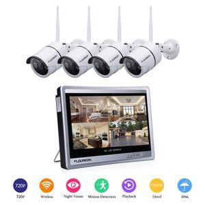 CAMÉRA IP FLOUREON 4CH 1080P WIFI NVR Caméra IP de Sécurité
