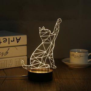 LAMPE A POSER Lampe Table Déco Lampe 3D LED USB  Décoration Bure