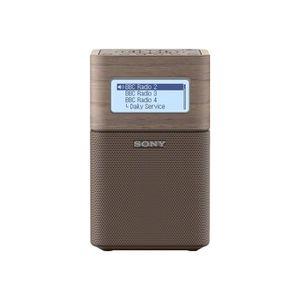 TUNER HI-FI Sony XDR-V1BTD - Radio portative DAB - brun