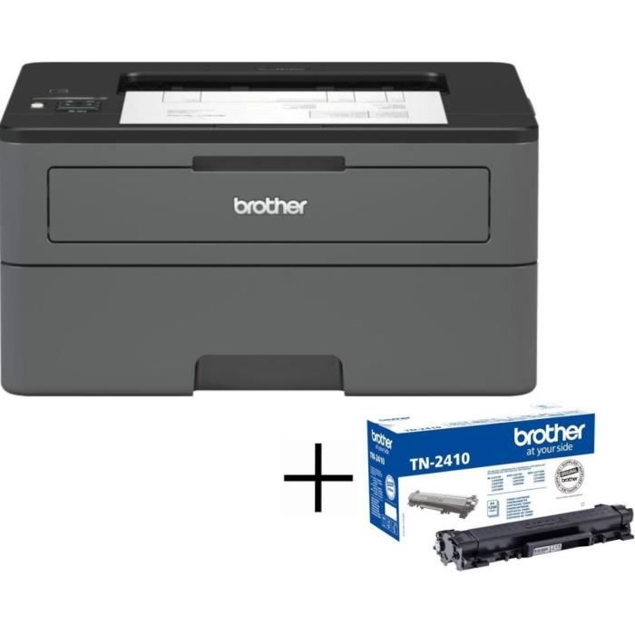 BROTHER Imprimante laser Wi-Fi HL-L2375DW + Toner noir TN2420 (Jusqu'à 1200 pages)