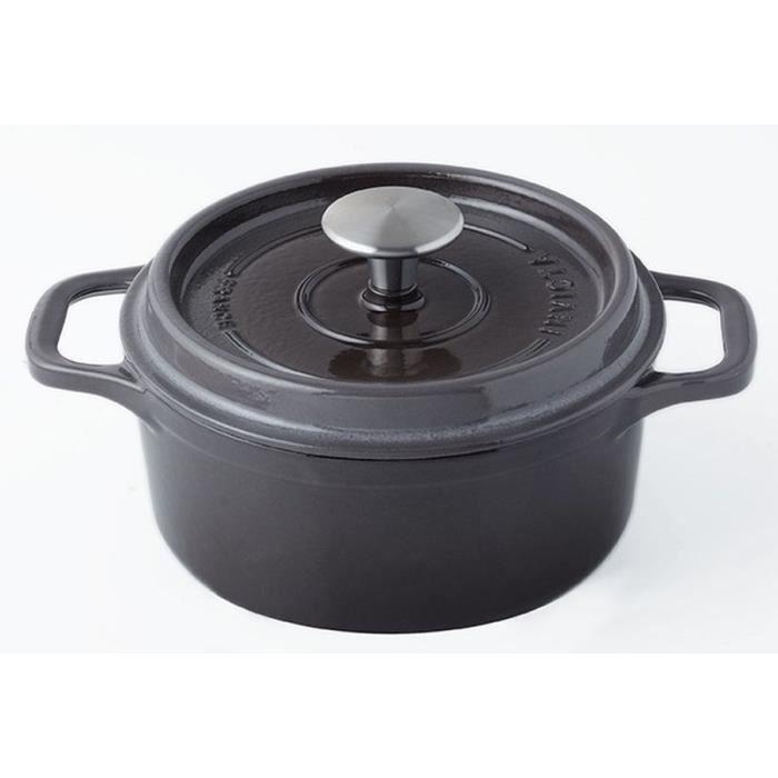 INVICTA Cocotte ronde - Ø 18 cm - Taupe - Tous feux dont induction