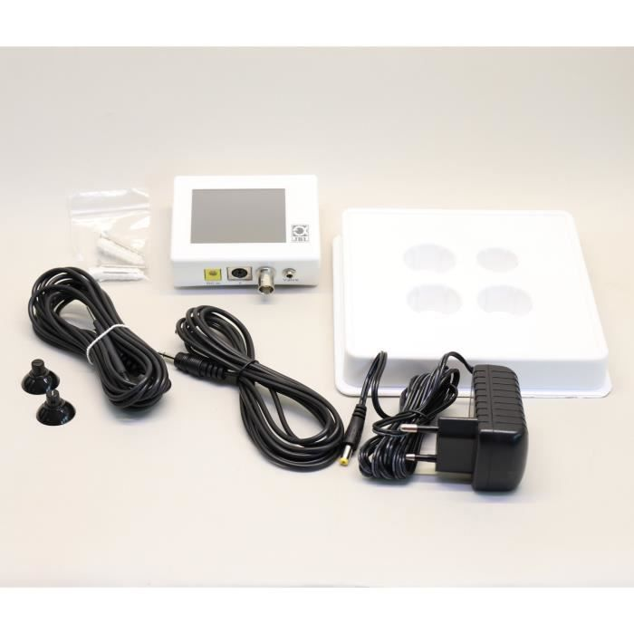 JBL Ordinateur de mesure CO2 et pH Proflora Control Touch - Pour plantes d'aquarium
