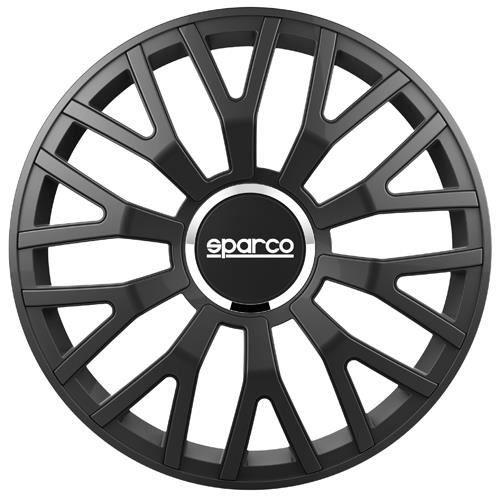 SPARCO Lot de 4 Enjoliveurs Leggera Pro 16'' - Noir mat
