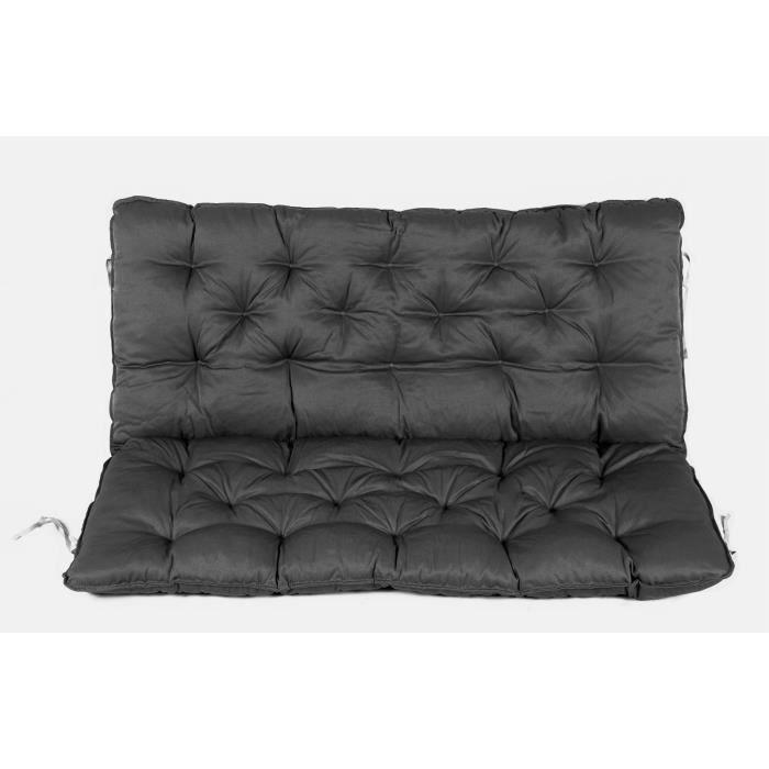 coussin haut dossier pour de banc de jardin design de maison. Black Bedroom Furniture Sets. Home Design Ideas