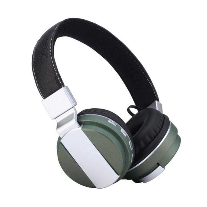 Casque Découte Bluetooth Casque écouteurs Sans Fil Soutien Stéréo