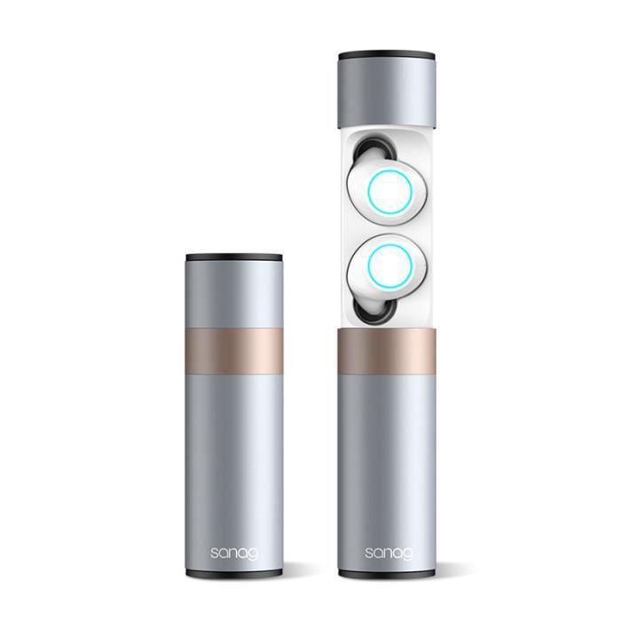 Écouteurs Stéréo À Réduction De Bruit Dido Tws Bluetooth Pour Casques D'écoute Sans Fil Casque - Ipx7, Avec Microphone