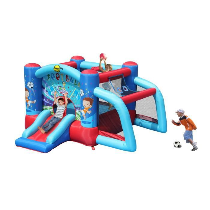AIRE DE JEUX GONFLABLE HAPPY HOP Château - Aire de jeux gonflable Footbal