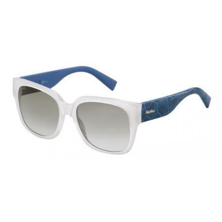 Achetez Lunettes de soleil Max Mara femme MM 0002/S C0F (YE) blanches
