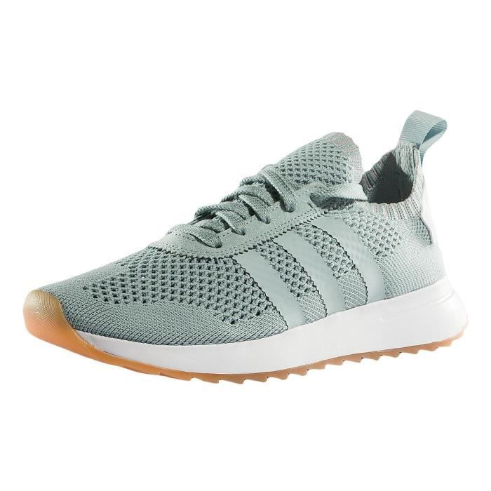 best sneakers 16e46 a8431 BASKET adidas Femme Chaussures  Baskets FLB W PK .