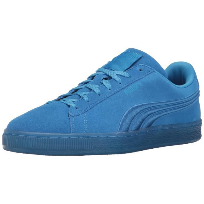plus récent 6ca39 c681b Puma Suede Classic Badge Iced Sneaker Fashion KNN4B Taille-35 1-2