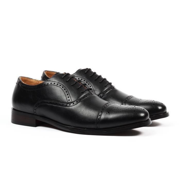 Gino Cap-toe Chaussures habillées Brogue ZN4WX Taille-42