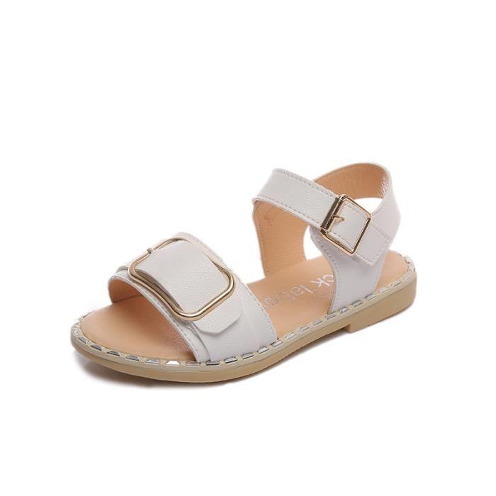 Chaussures Achat Fille Blanc Enfant Sandales Princesse cl1JTKF3