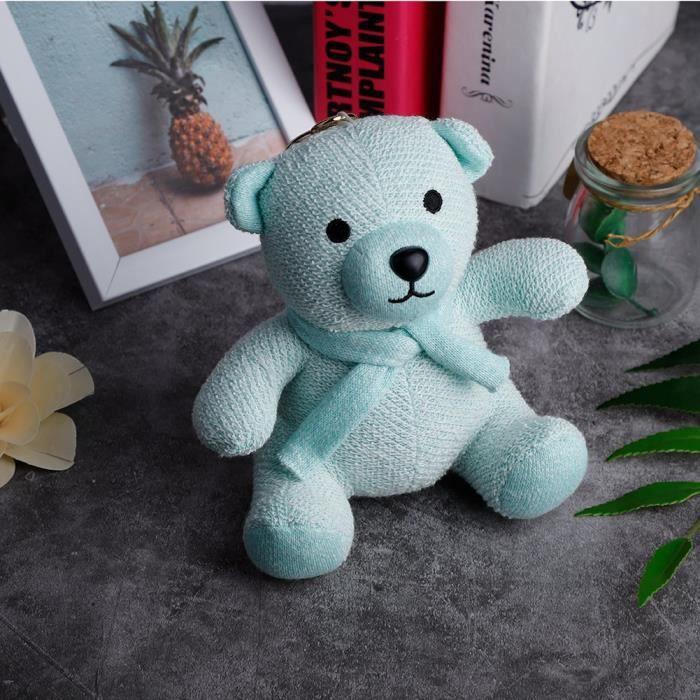 Haut-parleur Sans Fil Bluetooth Little Bear Appel Mains Libres Portable(vert)--rose Vie