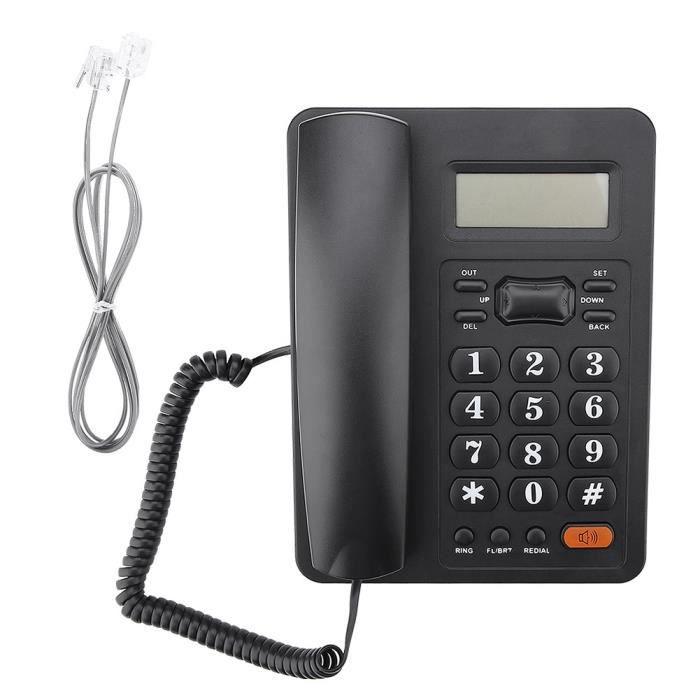 2b92284ba5415e Téléphone Fixe Filaire avec fonction de renumérotation - Achat ...
