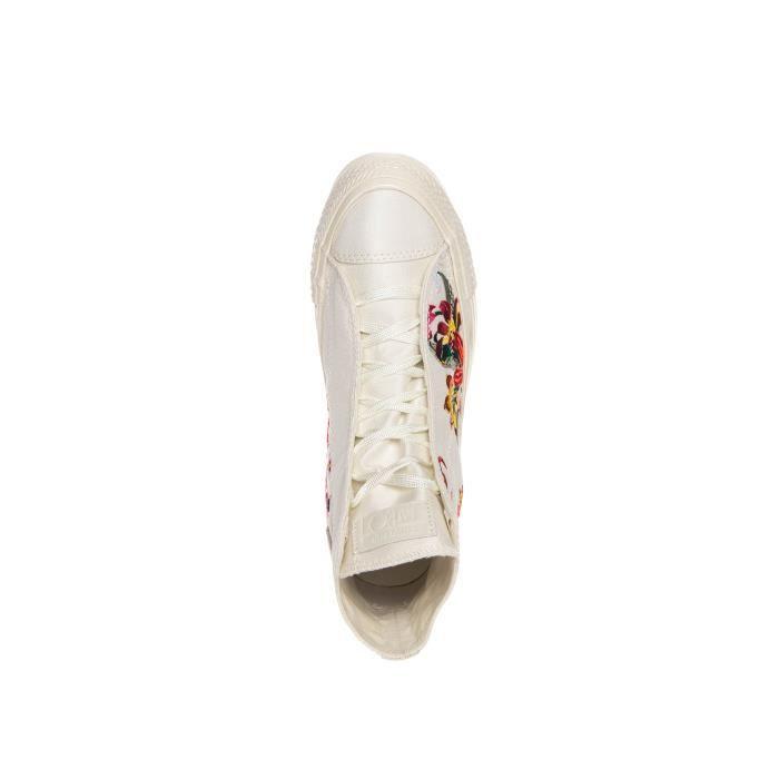Converse Par Chaussures Patbo Chuck Taylor Lux Wedge Blanc VZ2T7 Taille-36 1-2
