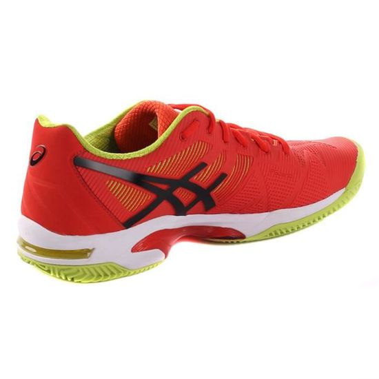 Achat Speed Rouge Chaussures Gelsolution 0990 3 Clay Asics EA0wUqP