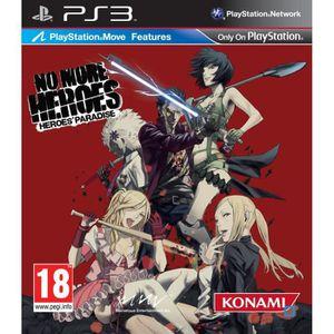 JEU PS3 NO MORE HEROES MOVE / Jeu console PS3
