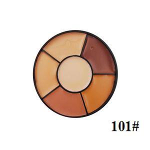 PALETTE DE MAQUILLAGE  6 Couleurs Maquillage Visage Correcteur Fondation