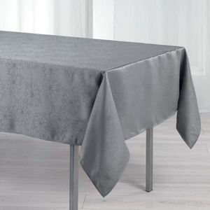nappe damassee achat vente nappe damassee pas cher cdiscount. Black Bedroom Furniture Sets. Home Design Ideas