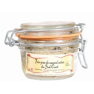 FOIE GRAS Foie gras de canard entier du Sud-Ouest IGP TG 125