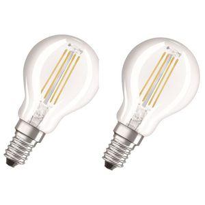 AMPOULE - LED NEOLUX Lot de 2 Ampoules LED E14 sphérique claire