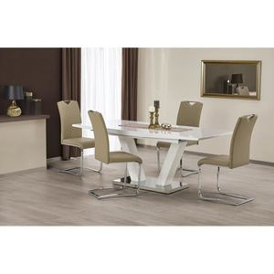 TABLE À MANGER COMPLÈTE Ensemble table à manger design extensible 160÷200