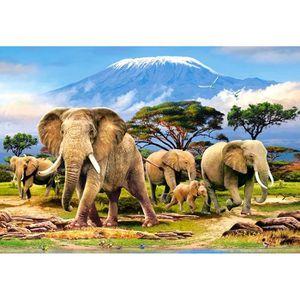 PUZZLE Puzzle 1000 pièces Kilimanjaro Morning