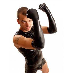 ÉCARTEUR - SPÉCULUM Dilatation Gants Fist Elbow Noir S