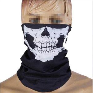 ECHARPE - FOULARD 2Pcs Crâne Bandana Bonnet Écharpe Hijab Cape Foula 4a7a94509b8