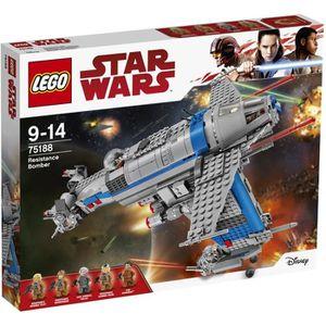 ASSEMBLAGE CONSTRUCTION LEGO® Star Wars 75188 Bombardier de la Résistance