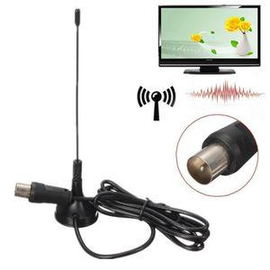 ANTENNE RATEAU Antenne Portable Intérieure / Extérieure pour TV T