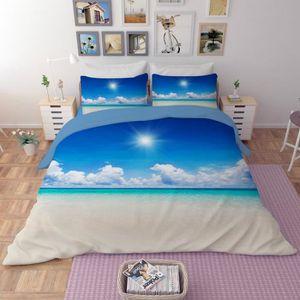 housse de couette paysage achat vente pas cher. Black Bedroom Furniture Sets. Home Design Ideas