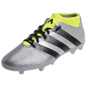 CHAUSSURES DE FOOTBALL Adidas Chaussures de Football Homme Gris Ace 16.3