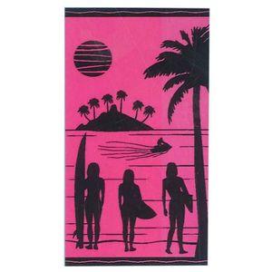 SERVIETTE DE PLAGE Drap de Plage Malibu - Sunset