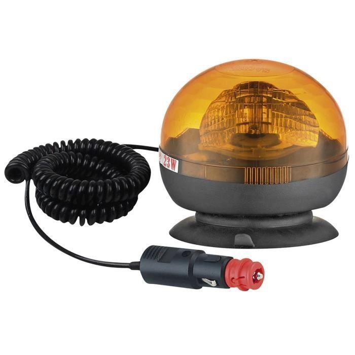 SPOTLIGHT Gyrophare Gyroflash magnétique H1 - 12-24 V