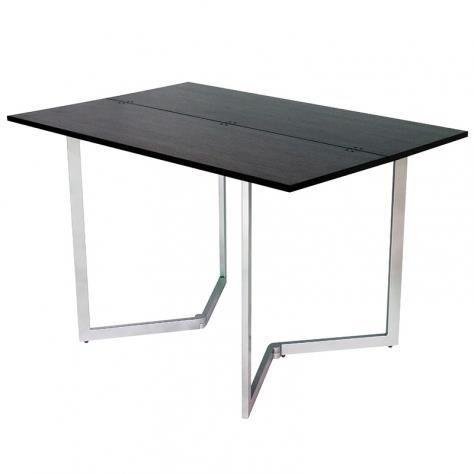 TABLE CONSOLE EXTENSIBLE WENGE AURELIA - Achat / Vente console ...