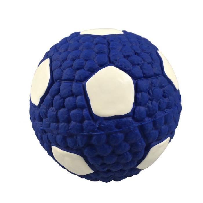 Jouet Pour Chien Football Pet Vocal Interactif Formation Balle Latex Dents À Billes Be6823