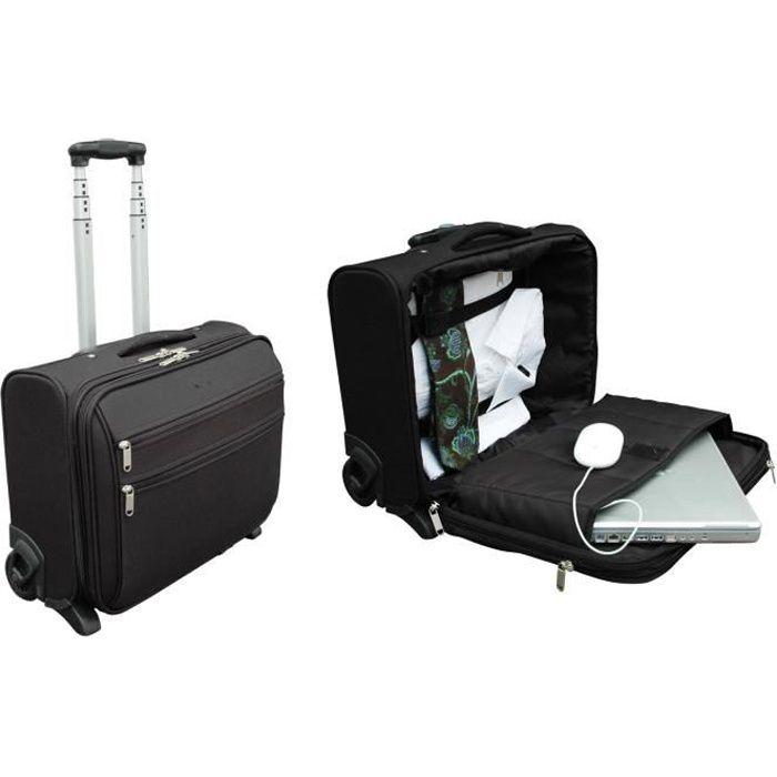 sacoche ordinateur portable 17 pouces a roulettes achat vente pas cher. Black Bedroom Furniture Sets. Home Design Ideas