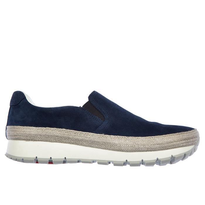 Slip on femme en daim sneakers Prada