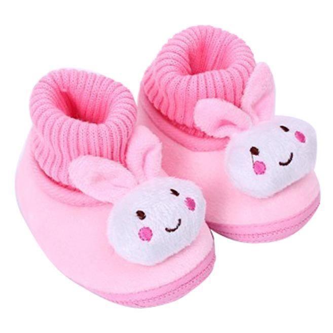 Chaussures de bébébébé Chaussures bottes enfant enfant fille garçon chaussures berceau bottes Soft rose zKLl1IBOYv