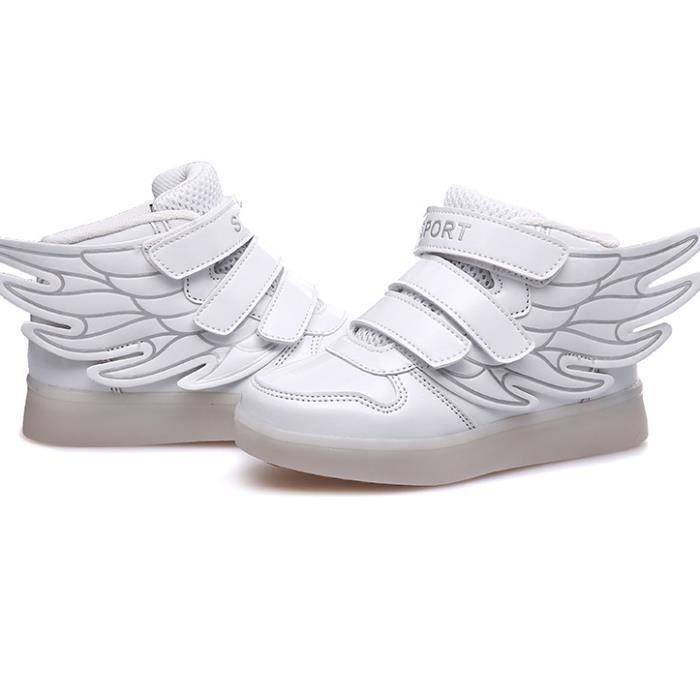 ailes extérieur LED lumières Chaussures de enfa...