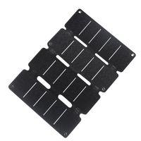 BALISE - BORNE SOLAIRE  Panneau de remplissage solaire se pliant portatif