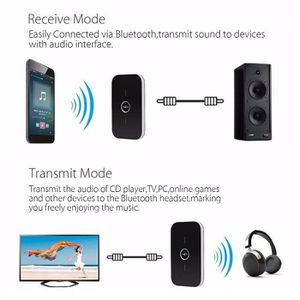 CÂBLE TV - VIDÉO - SON Bluetooth émetteur + récepteur sans fil A2DP adapt