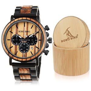 MONTRE en bois pour homme montres classique de luxe éléga ... da23b28e368