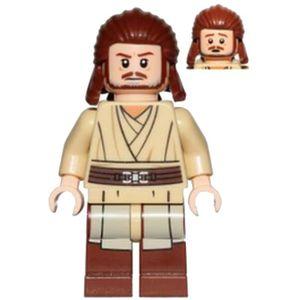 FIGURINE - PERSONNAGE Mini Figurine Lego® Star Wars - Qui-Gon Jinn - Têt