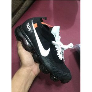 ddb62e4ddad Nike Air VaporMax Flyknit OFF-WHITE X Homme Femme Basket Chaussure ...